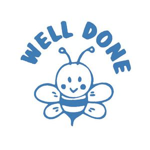 JA108L_deskmate_d_mate_merit_stamp_welldone_be_blue